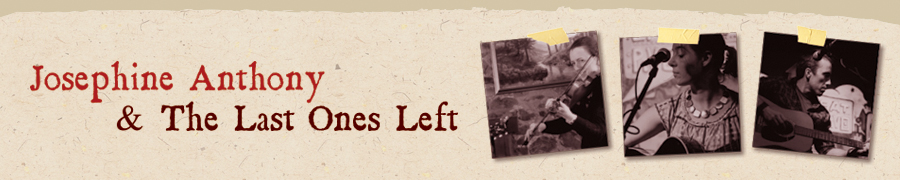 Josephine Anthony & The Last Ones Left banner